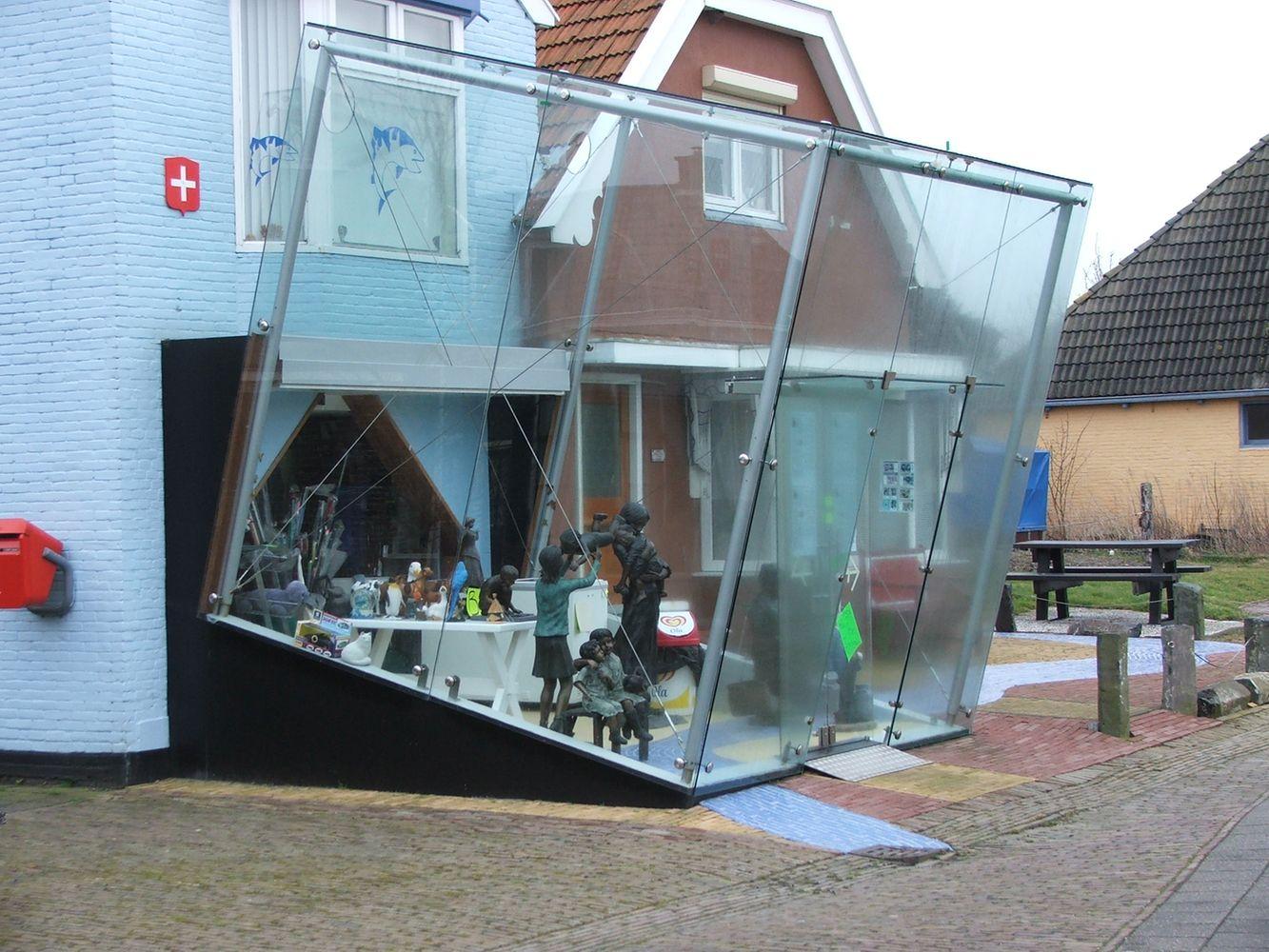 Glazen kubus Zurich door D&O Franeker