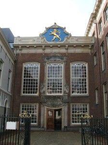 Monumentenglas stadhuis Leeuwarden