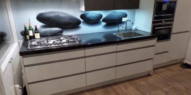 Keukenachterwand van glas - persoonlijke blikvanger! - D&O
