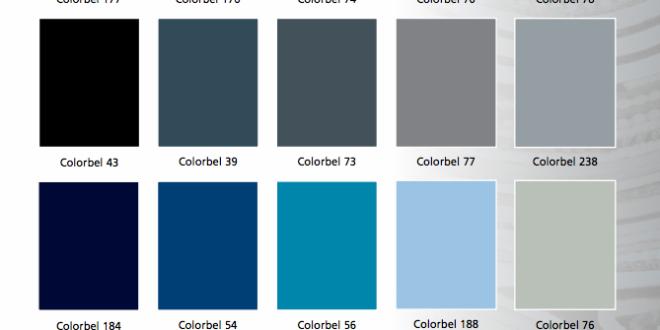 Standaard kleuren colorbel