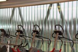 Sportcomplex fitnessruimte