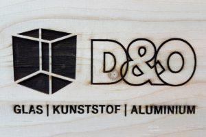 Graveren hout logo