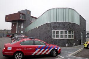 U-glas brandweerkazerne Rietgrachtstraat