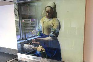 spatscherm kookplaat 4